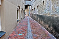 Narrow Alley Royalty Free Stock Photo