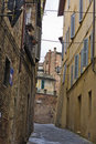 Narrow ancient street Stock Images