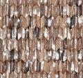 Narrow chevron natural larch parquet seamless floor texture Royalty Free Stock Photo