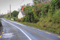 Narrow Country Road in ireland Royalty Free Stock Photo
