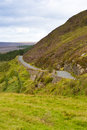 Narrow country road wicklow mountains ireland Stock Photos