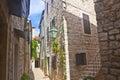Narrow croatian street in stari grad Stock Photos