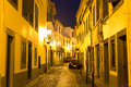 Narrow european street Royalty Free Stock Photo