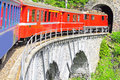 Narrow gauge railway. Stock Photo