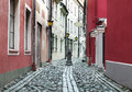 Narrow medieval street Royalty Free Stock Photography