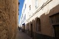 Narrow road at the Essaouira fo Royalty Free Stock Image
