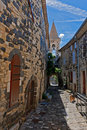 A narrow street Royalty Free Stock Photography