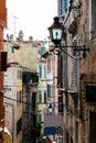 Narrow Street in the City of Rovinj