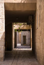 Narrow streets of old city jerusalem Royalty Free Stock Photos