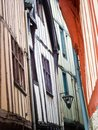 Narrow streets of Rouen, Normandy, France Royalty Free Stock Photography