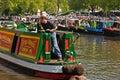 Narrowboats at Canalway Cavalcade Stock Image