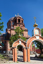 The Narva Voskresensky Cathedral, orthodox temple. Royalty Free Stock Image