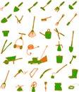 Narzędzia ogrodnicze Fotografia Stock