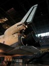 Nasa air and space museum shuttle at virginia Stock Photo