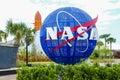NASA Kennedy Space Center Royalty Free Stock Photo