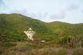 Nasa satellite on st croix us virgin islands telescope one of very long baseline array vlba a system of ten radio telescopes which Stock Images