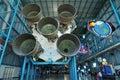 NASA Saturn V Rocket Royalty Free Stock Images