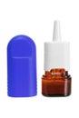 Nasal Spray Royalty Free Stock Photo