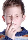 Nasal spray Royalty Free Stock Photo