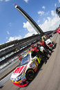 NASCAR:  3M Ford Allstate 400 at the Brickyard Royalty Free Stock Photography