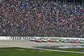 NASCAR:  April 19 Samsung Mobile 500 Royalty Free Stock Images