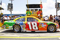 NASCAR - Busch's #18 M&M's Toyota Royalty Free Stock Image