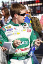 NASCAR - Carl Edwards at the Coca Cola 600 Stock Photography