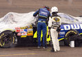 Nascar Chad Knaus and Jimmie Johnson Royalty Free Stock Photos