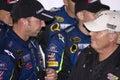NASCAR Chad Knaus and Rick Hendrick Royalty Free Stock Photo