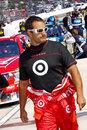 NASCAR Driver Juan Pablo Montoya Pre Race Royalty Free Stock Photos