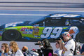 NASCAR:  February 6 Daytona 500 Qualifying Stock Photography