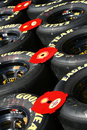 NASCAR - Goodyear Racing Eagle Tires Royalty Free Stock Images