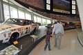 Nascar hall of fame museum visit to the in downtown charlotte north carolina Stock Photography