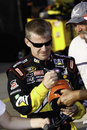 NASCAR - Jeff Burton Signs Autographs Royalty Free Stock Images