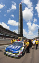 NASCAR:  Johns Manville Toyota Allstate 400 Royalty Free Stock Photo