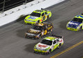 NASCAR:  July 04 Coke Zero 400 Royalty Free Stock Photo