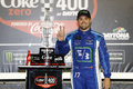 NASCAR: July 01 Coke Zero 400 Winner Royalty Free Stock Photo