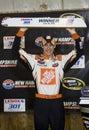 NASCAR:  June 28 Lenox Industrial Tools 301 Royalty Free Stock Photo