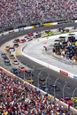 NASCAR - Martinsville Turn 4 Stock Photo