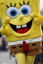 NASCAR:  May 09 SpongeBob SquarePants 400 Royalty Free Stock Photo
