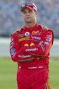 NASCAR: Reed Sorenson LifeLock.com 400 Royalty Free Stock Photo