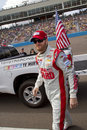 Nascar sprint cup dale earnhardt junior jr before the start of the race in phoenix arizona usa Stock Image