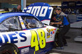 NASCAR Sprint Cup Driver Jimmie Johnson Stock Photos