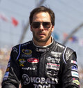 NASCAR Sprint Cup race Jimmie Johnson Royalty Free Stock Photo