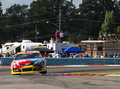 Nascar sprint cup series cheez it at the glen august watkins ny aug kyle busch wins race watkins international in watkins ny Stock Image
