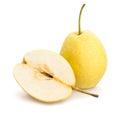 nashi pear Royalty Free Stock Photo