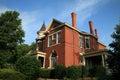 Nashville historic home Royalty Free Stock Photo