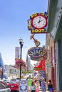 Nashville Honkey Tonk Bars Royalty Free Stock Photo