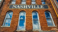 Nashville Sign Royalty Free Stock Photo