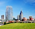 Nashville tennessee cityscape in the day Stock Photos